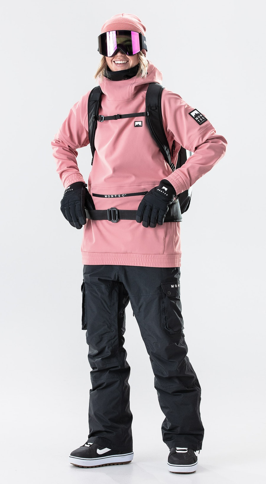 Montec Tempest W Pink Outfit Multi