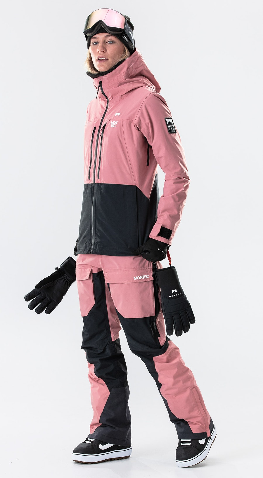 Montec Moss Pink/Black Snowboard clothing Multi