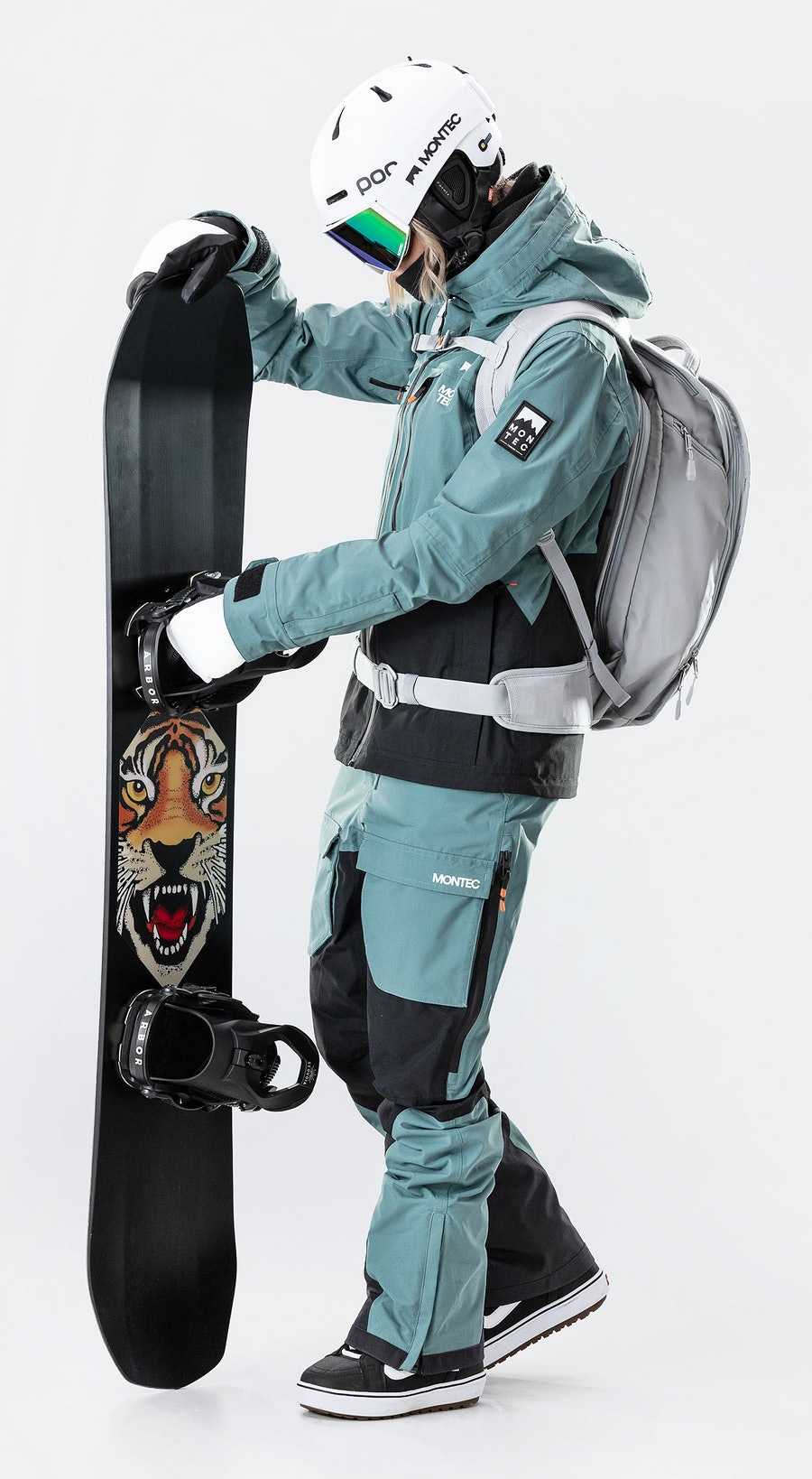 Montec Moss Atlantic/Black Snowboardklaer Multi