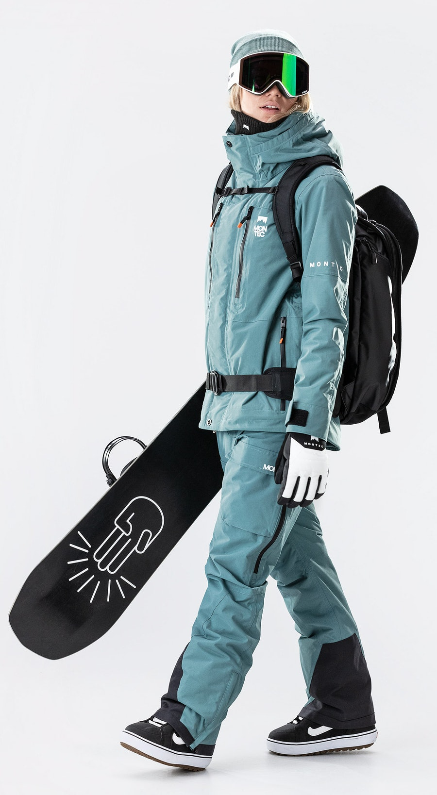 Montec Fawk W Atlantic Vêtements de Snowboard  Multi