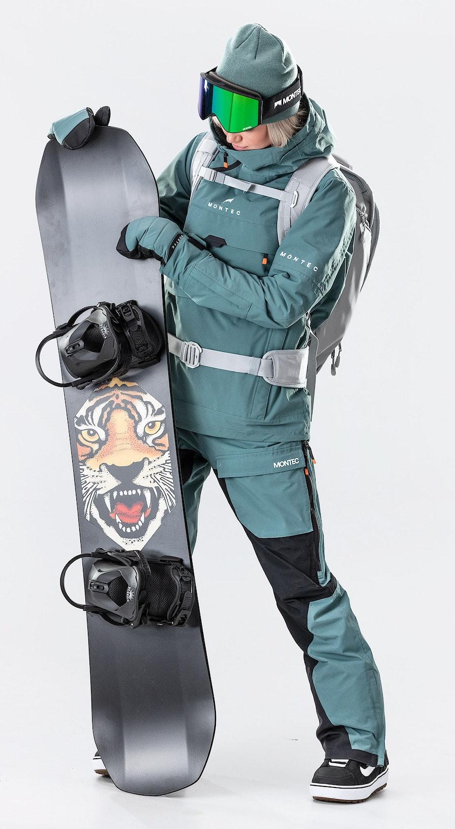 Montec Dune W Atlantic Snowboardklaer Multi