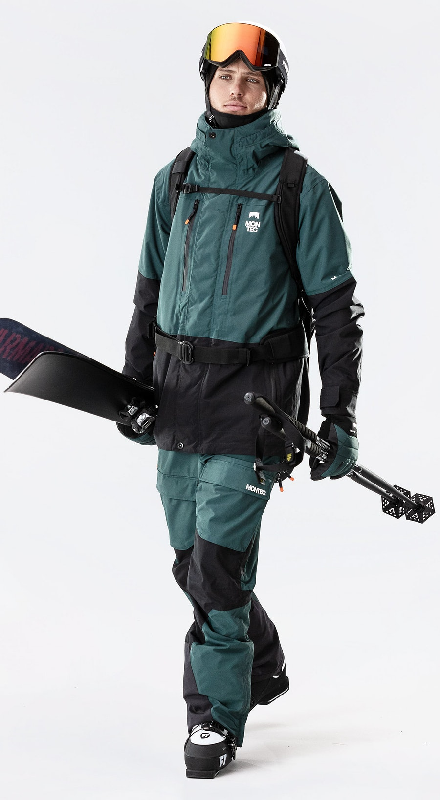 Montec Fawk Dark Atlantic/Black Vêtements de Ski Multi