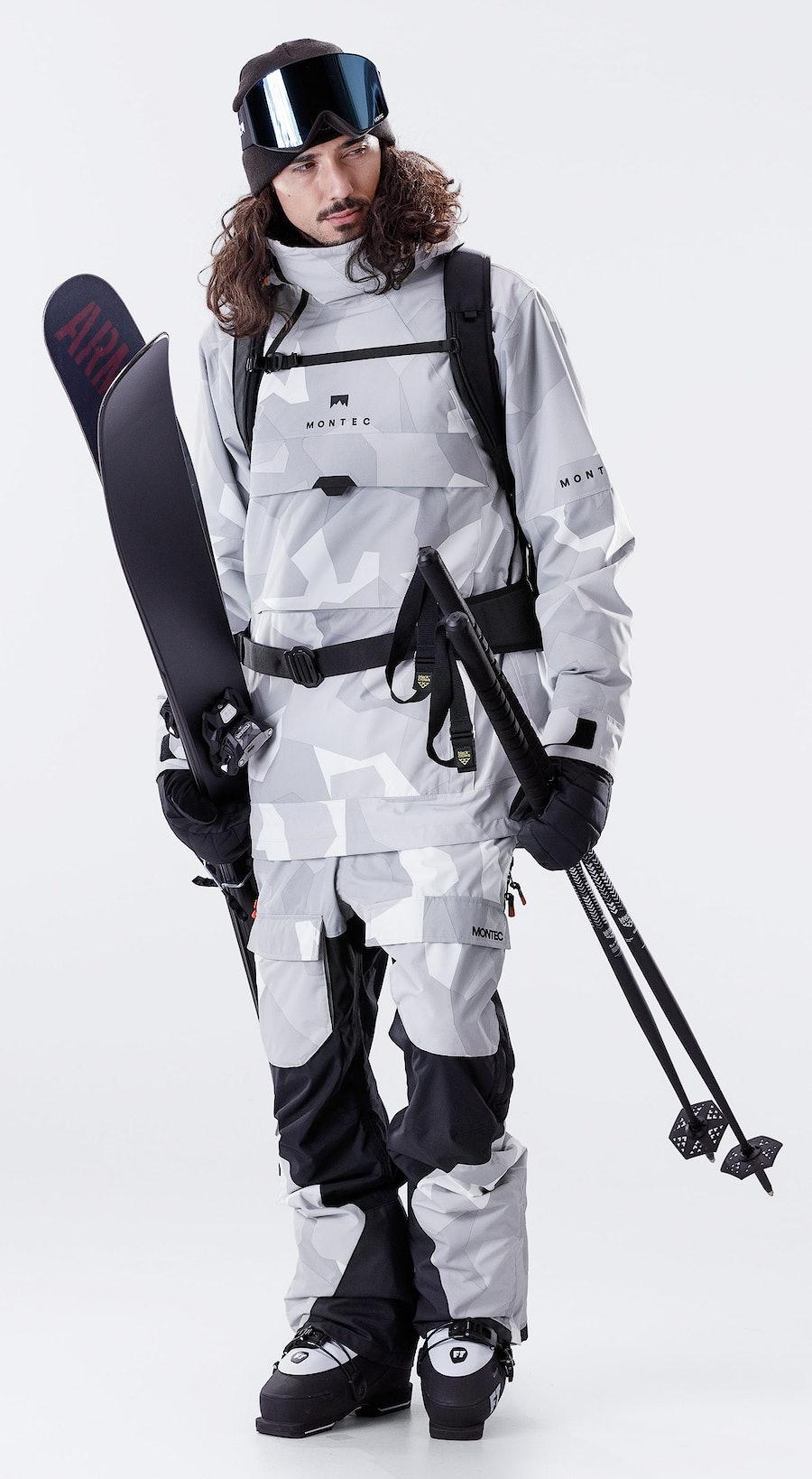 Montec Dune Snow Camo Outfit Multi