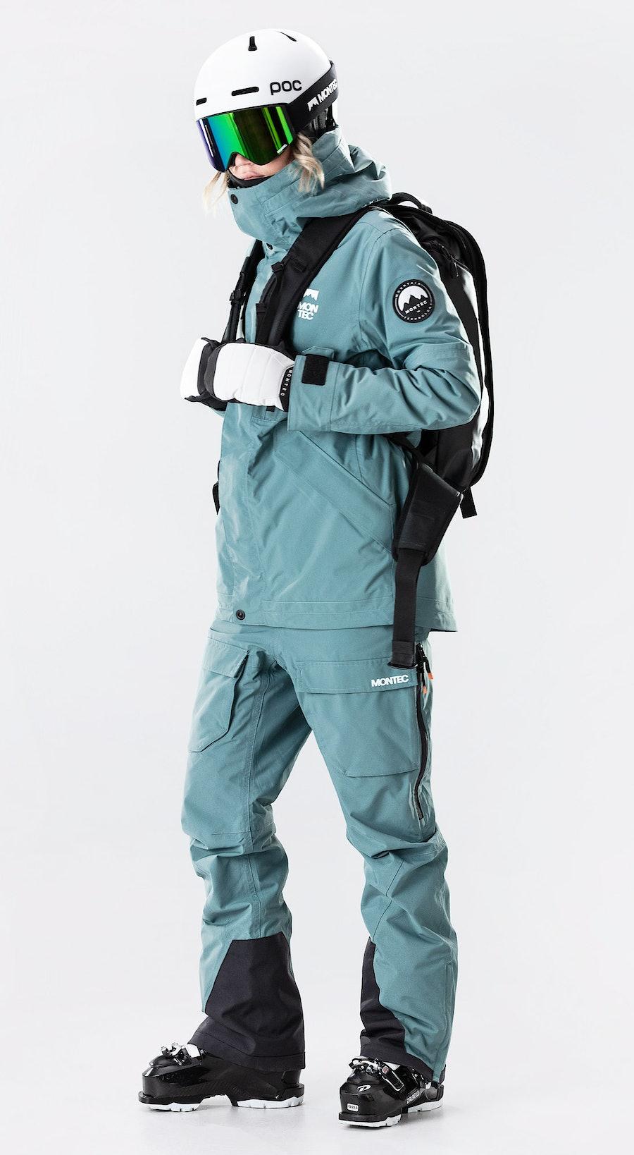 Montec Roc W Atlantic Skidkläder Multi