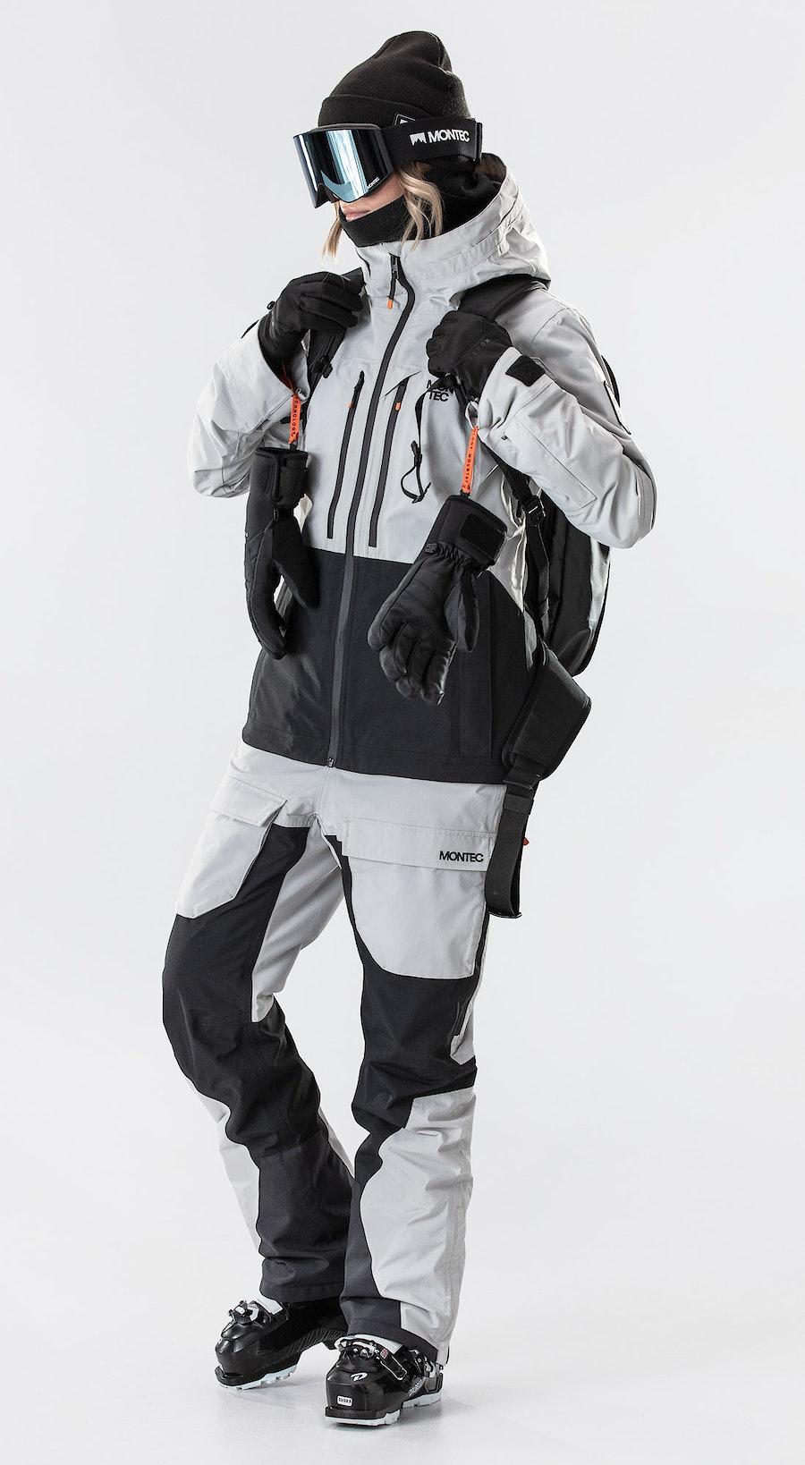 Montec Moss Light Grey/Black Skidkläder Multi