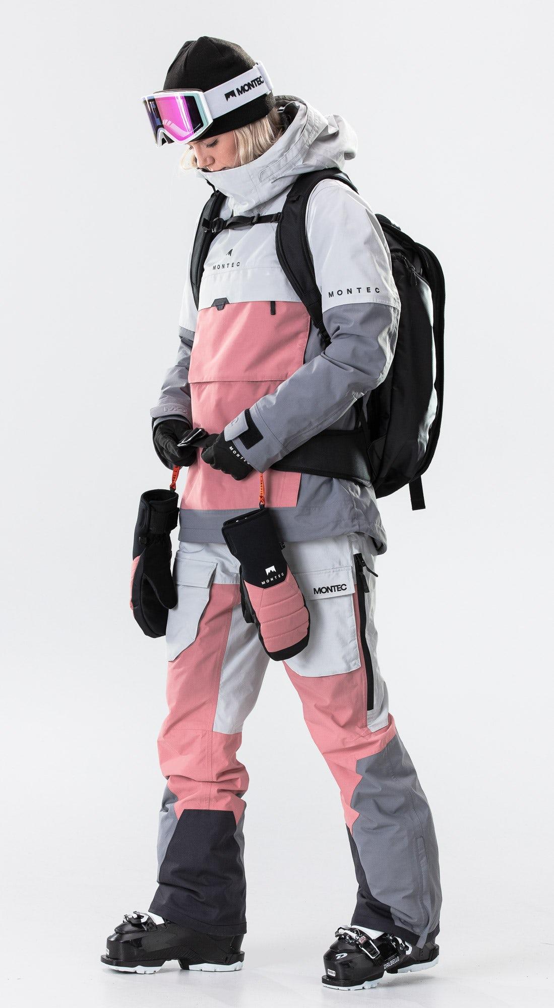 Montec Dune W Light Grey/Pink/Light Pearl