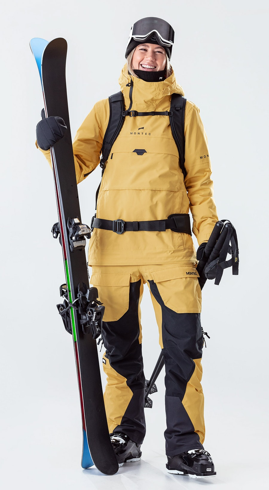 Montec Dune W Yellow Ski Clothing Multi