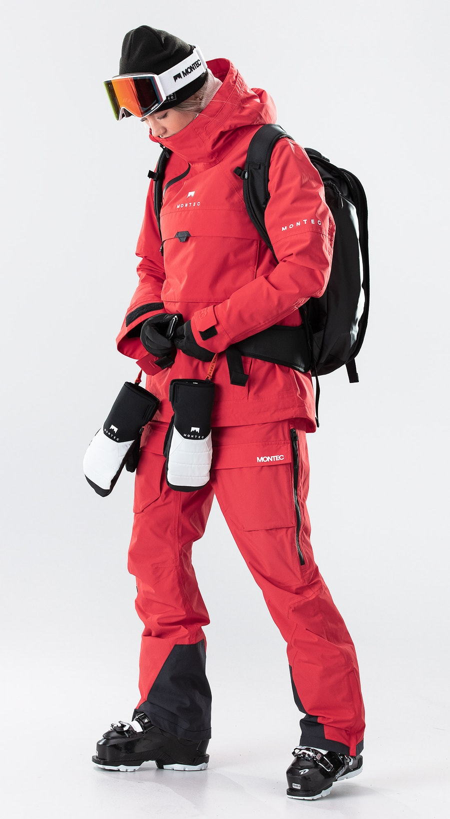 Montec Dune W Red Ski Clothing Multi