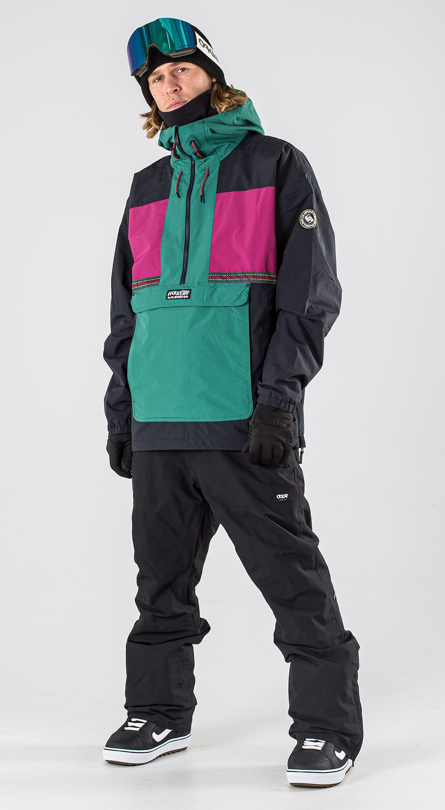 Quiksilver Dome Antique Green Snowboardkläder Multi