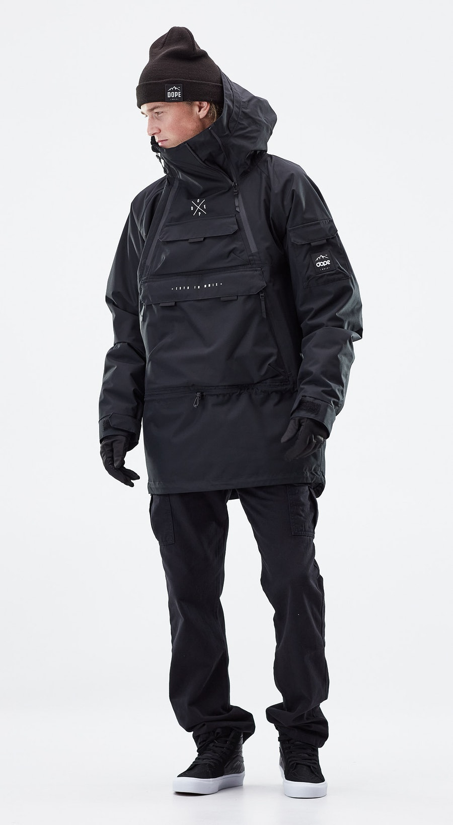 Dope Akin Black Outfit Multi