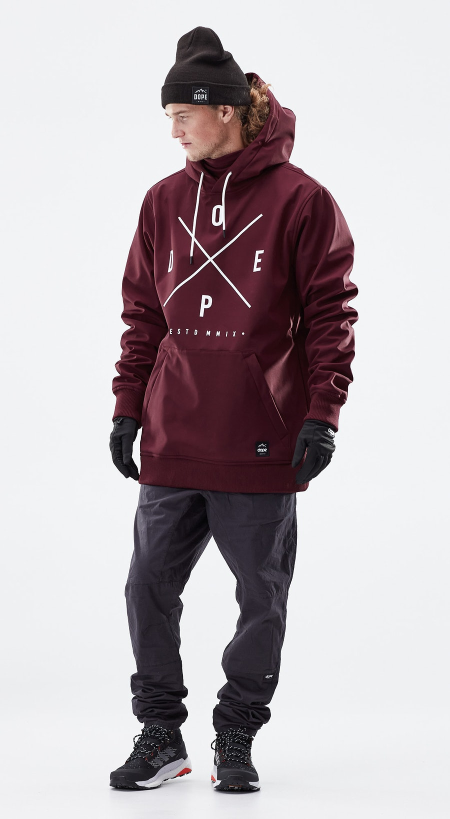 Dope Yeti Burgundy Outfit Multi