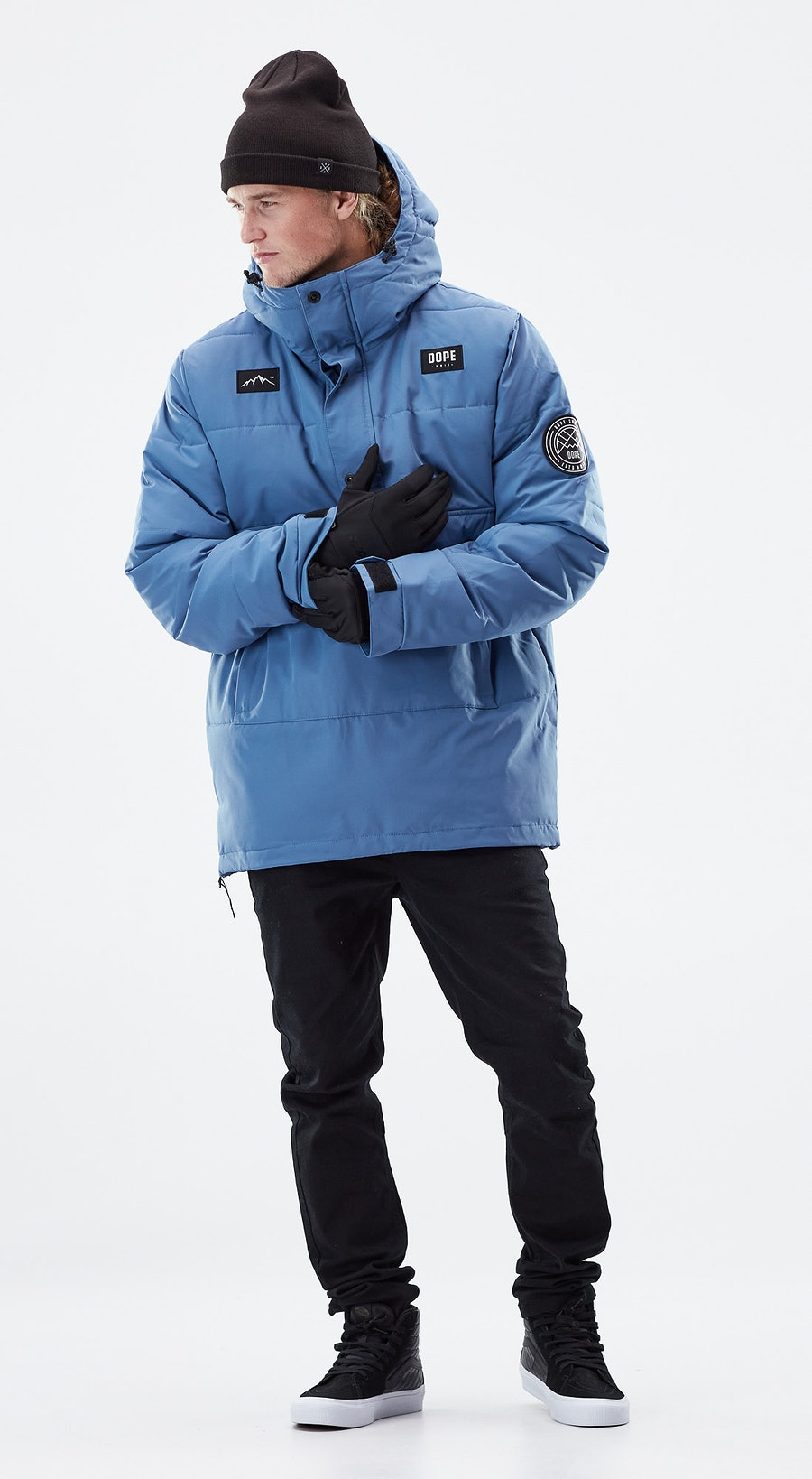 Dope Puffer Blue Steel Outfit Multi