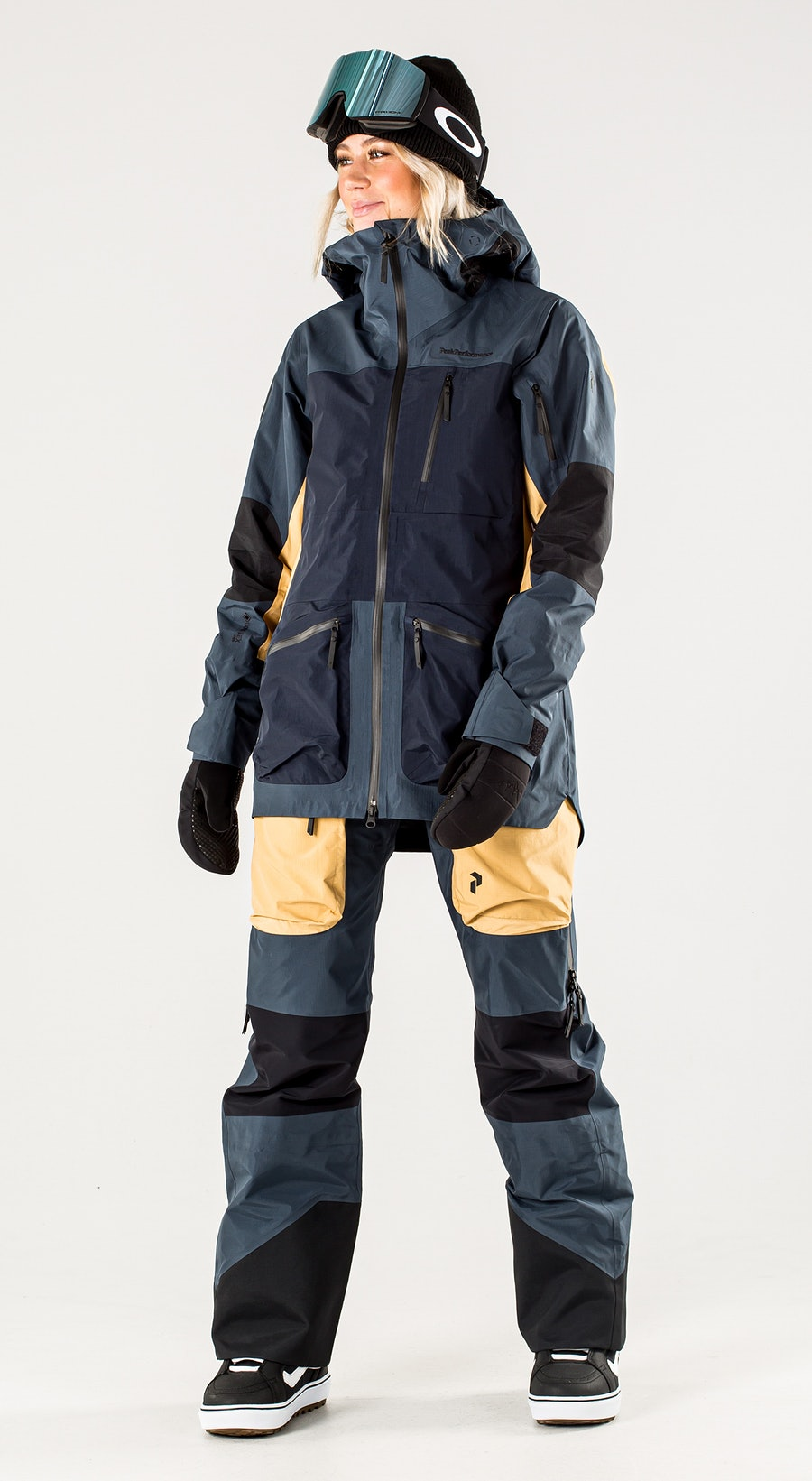 Peak Performance Vertical Pro Blue Steel Vêtements de Snowboard  Multi
