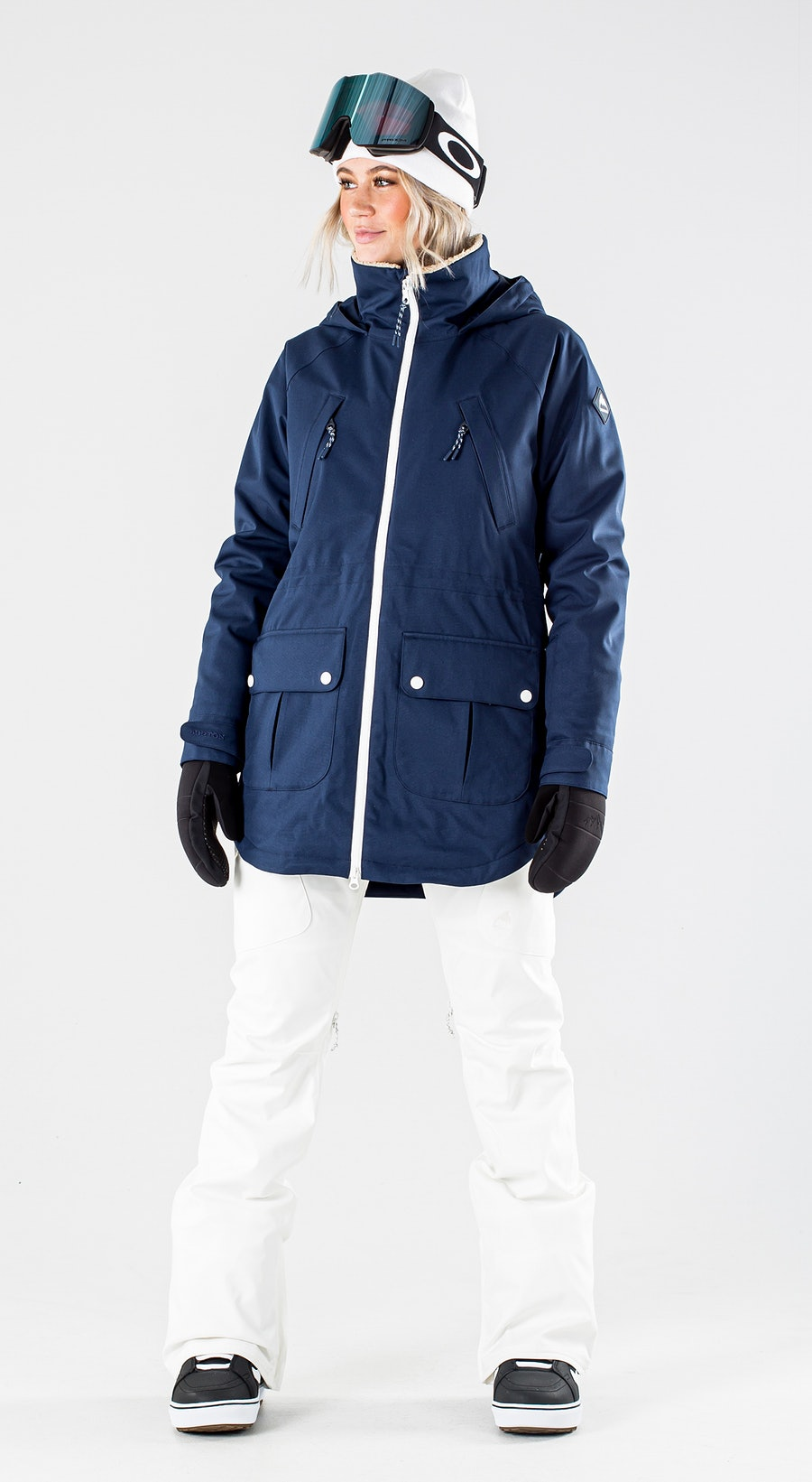 Burton Prowess Dress Blue Snowboardkläder Multi