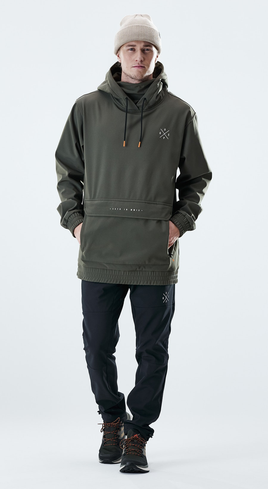 Dope Nomad Olive green Outfit Multi