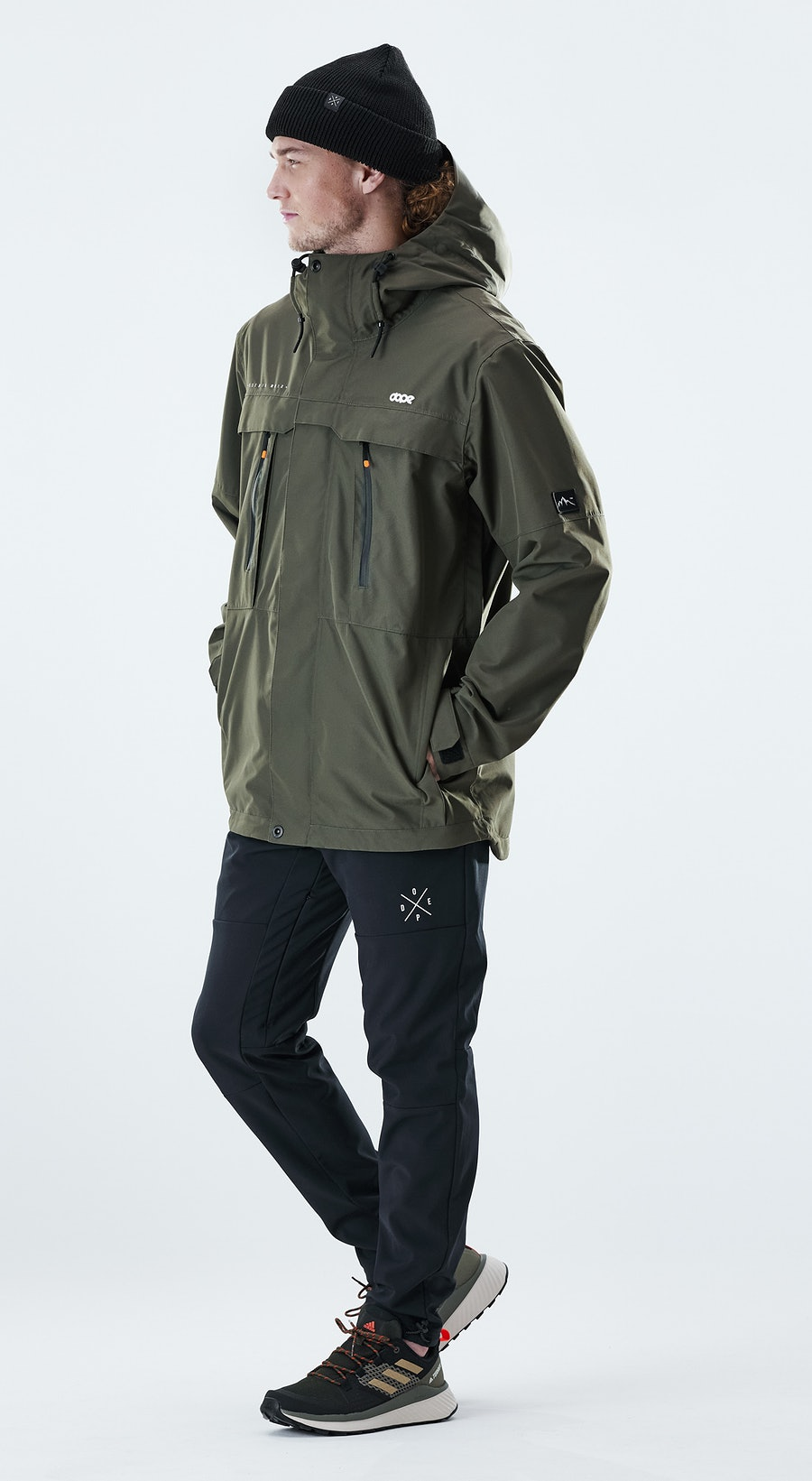 Dope Trekker Olive Green Outfit Multi