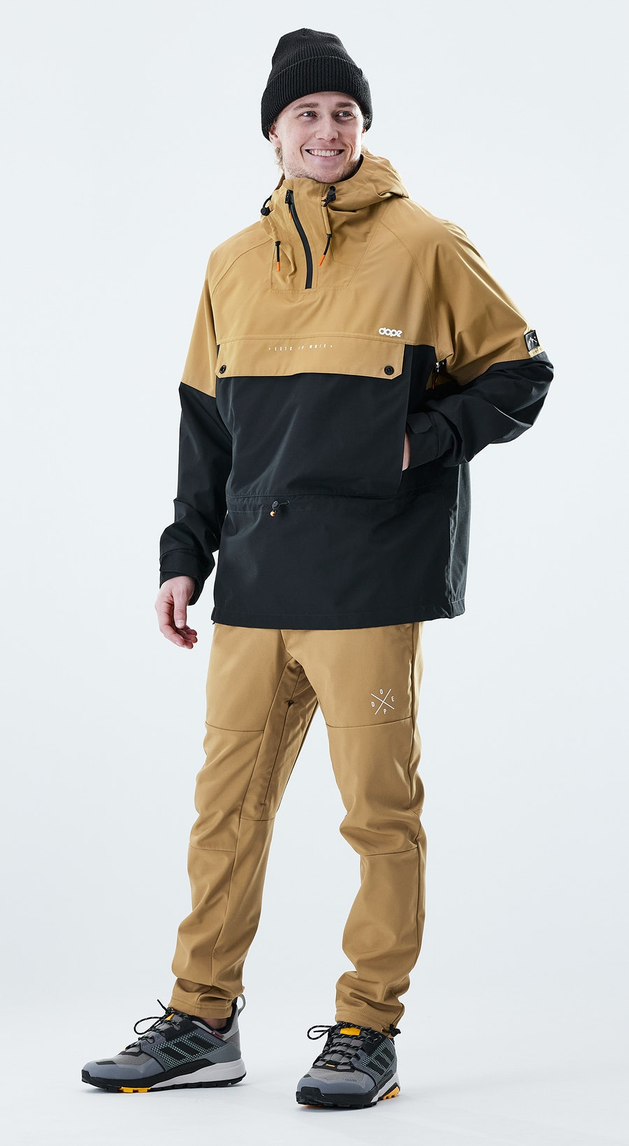 Dope Hiker Gold / Black Outfit Multi