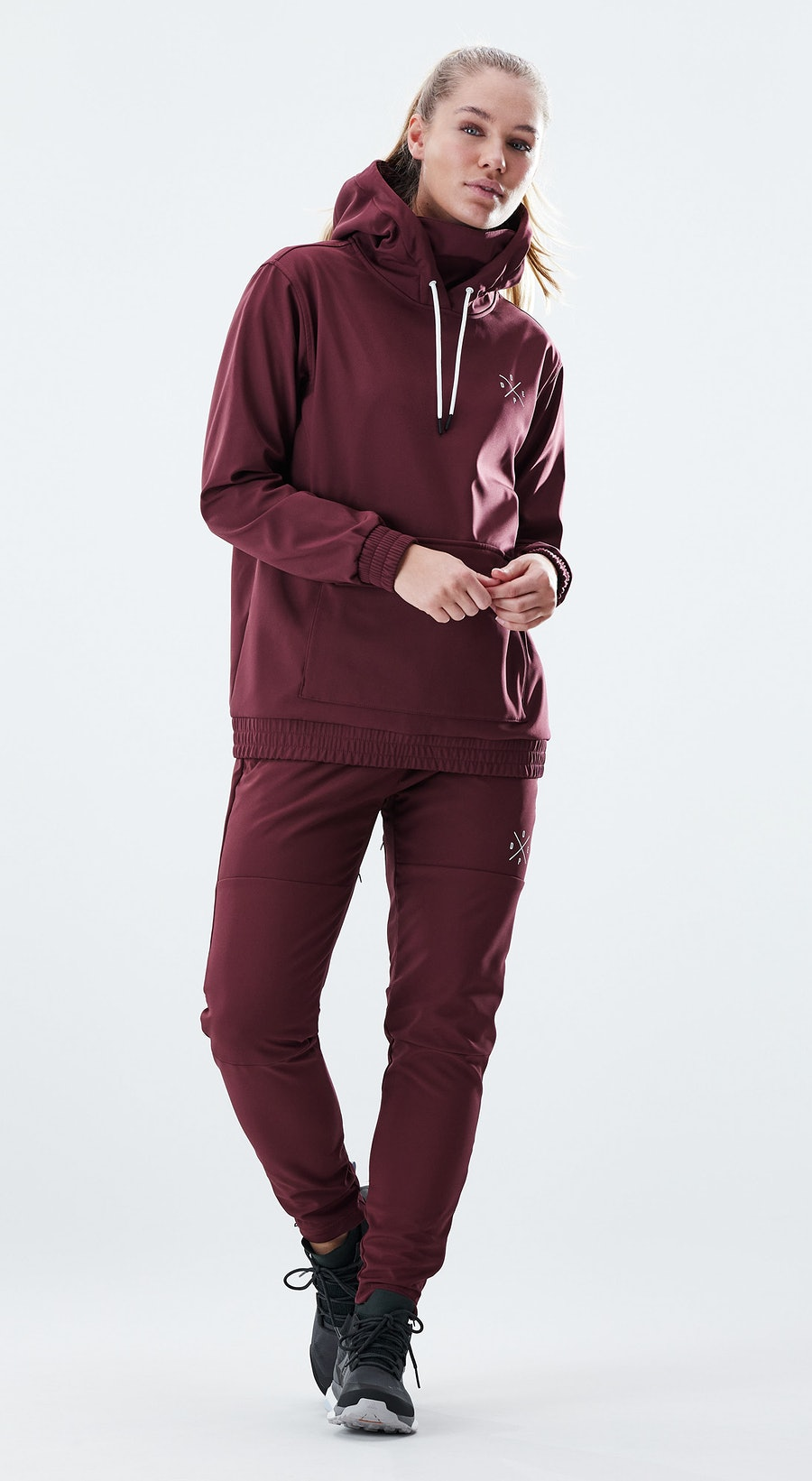 Dope Nomad Burgundy Outfit Multi
