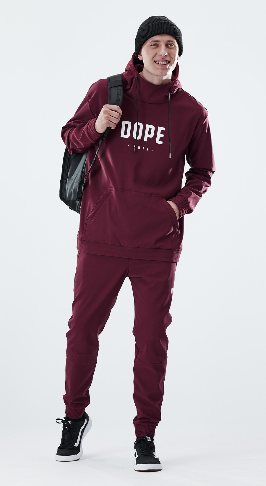 Dope Flight PO Burgundy Outfit Multi