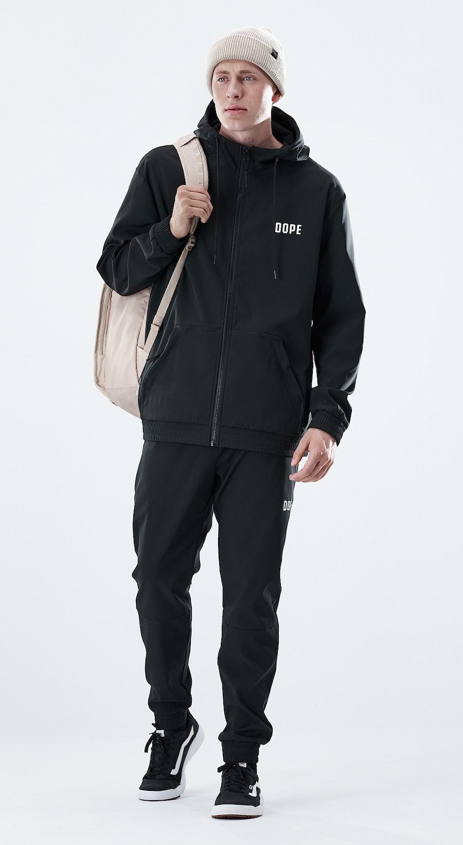 Dope Flight Zip Black Outfit Multi