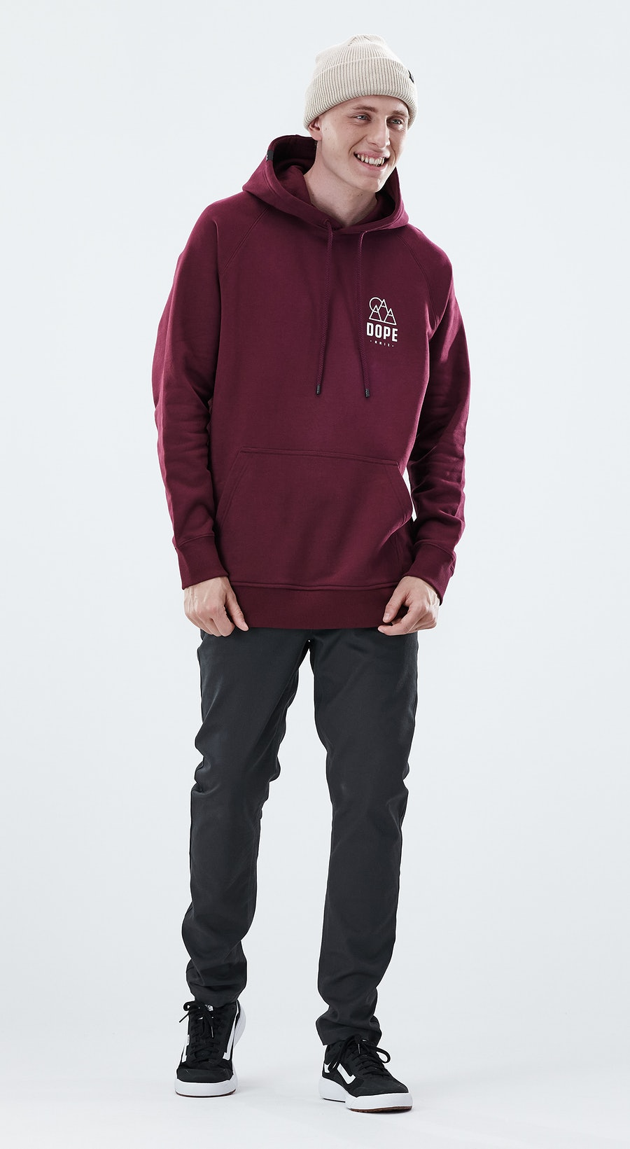 Dope Daily Rise Burgundy Outfit Multi