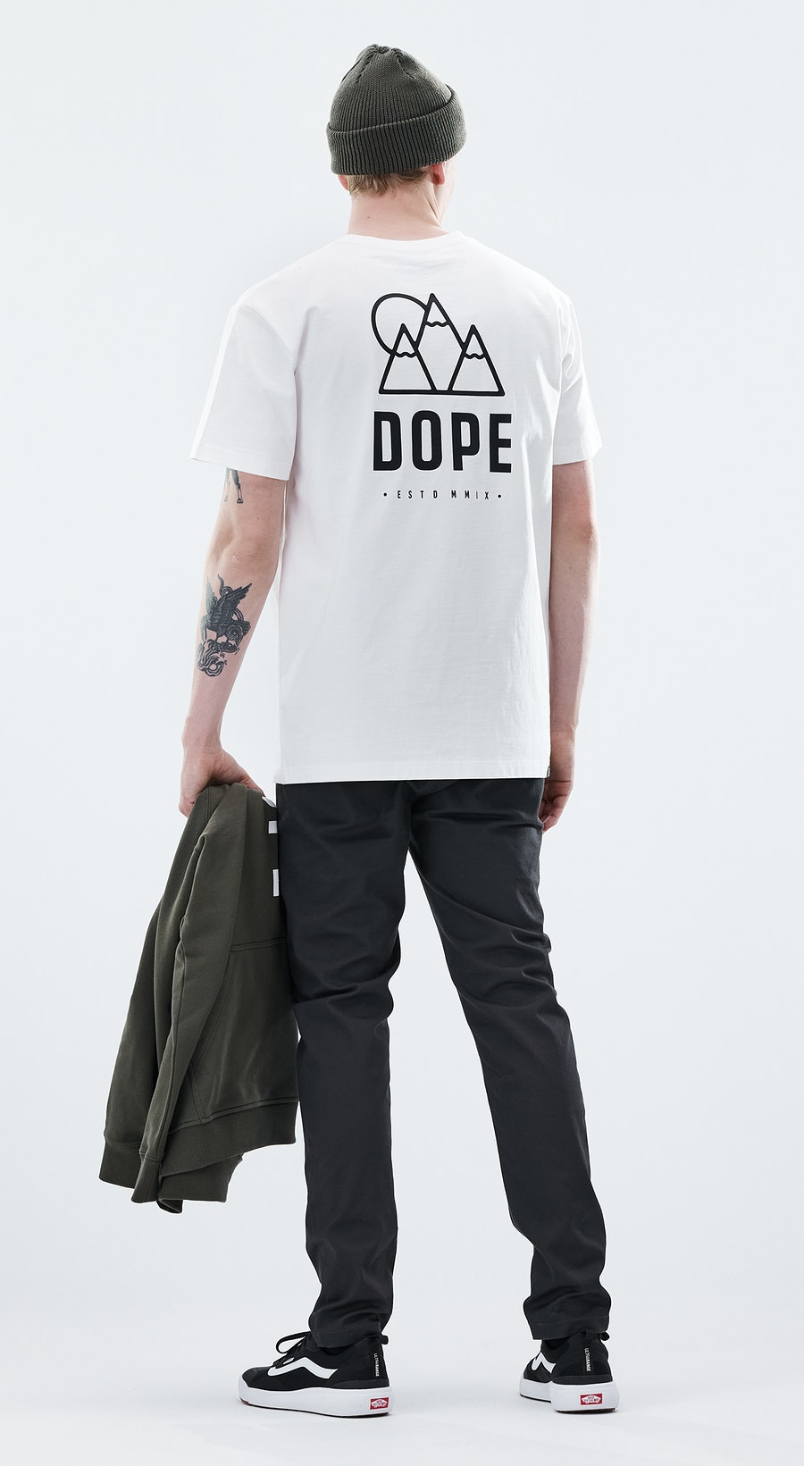 Dope Daily Rise White Outfit Multi