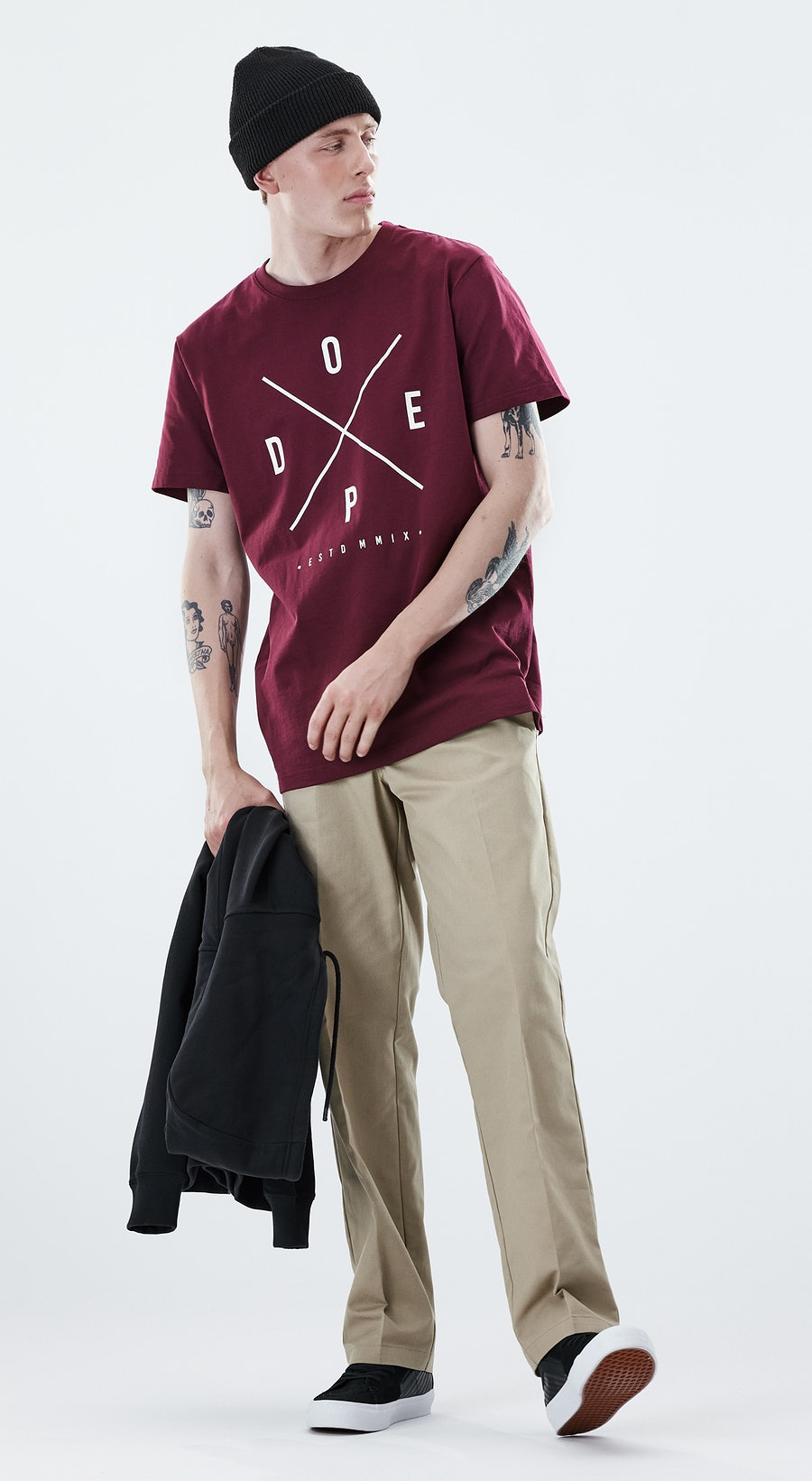 Dope Daily 2X-up Burgundy Outfit Multi