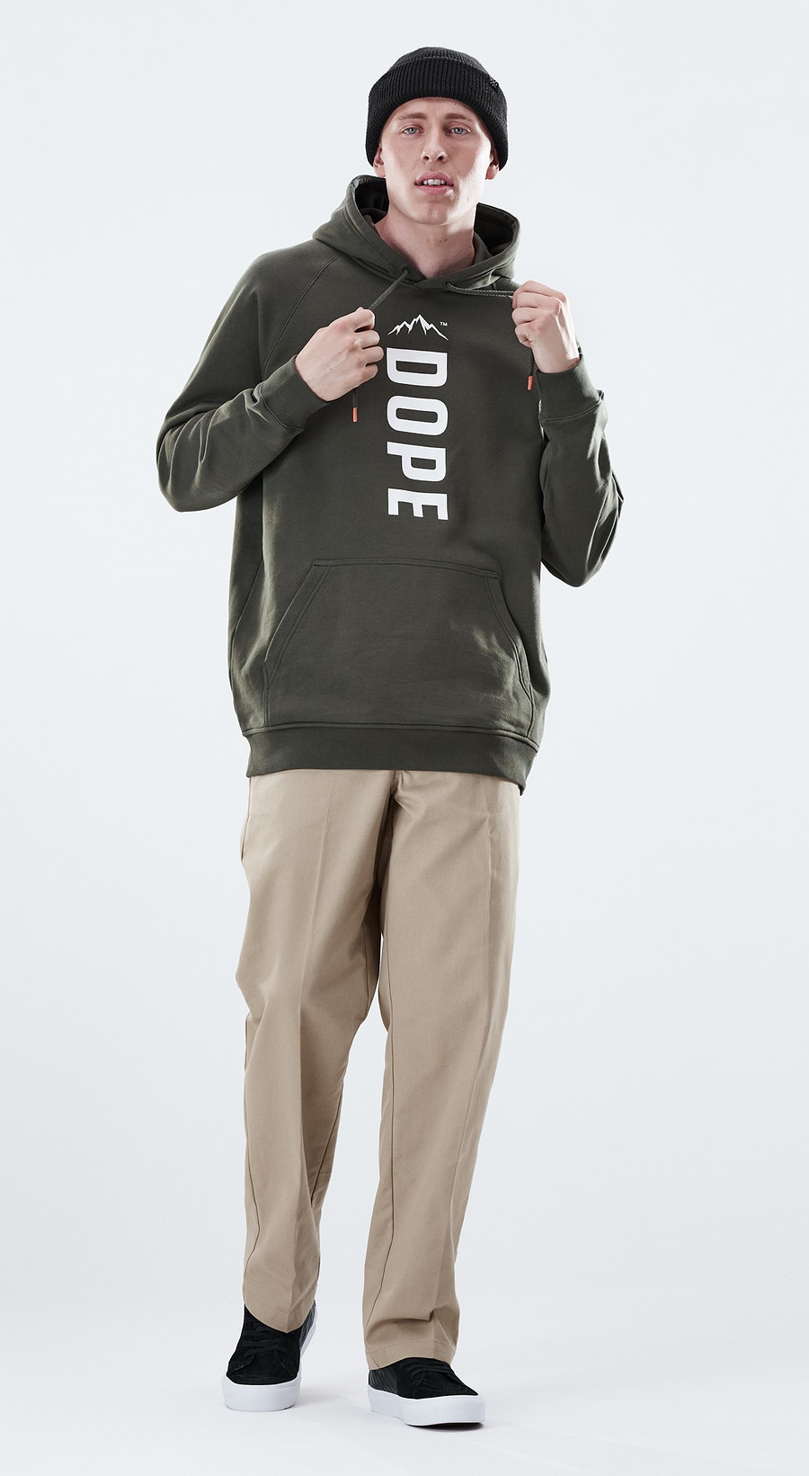 Dope Daily Capital Olive Green Outfit Multi