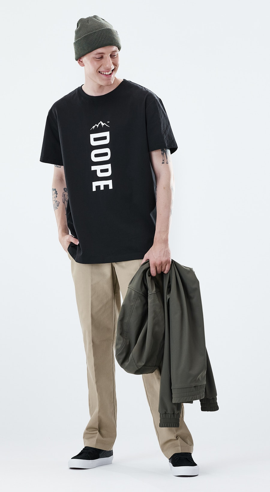 Dope Daily Capital Black Outfit Multi