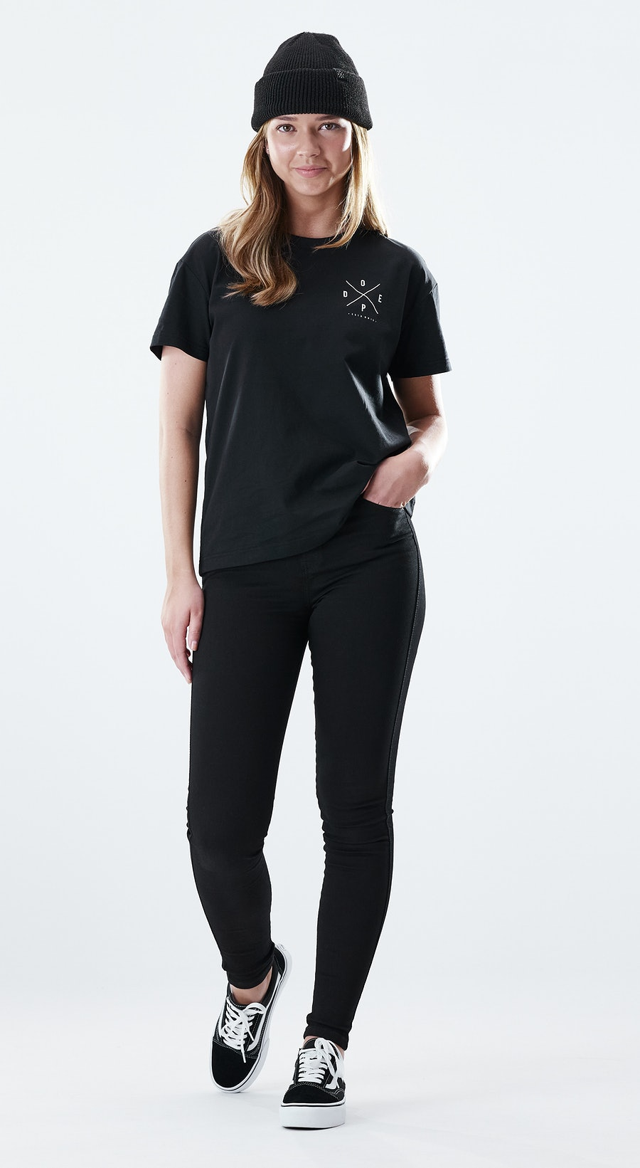 Dope Regular 2X-UP Black Outfit Multi