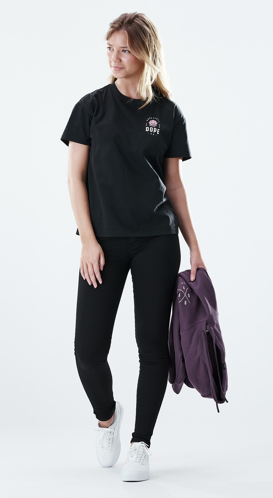 Dope Regular Rose Black Outfit Multi
