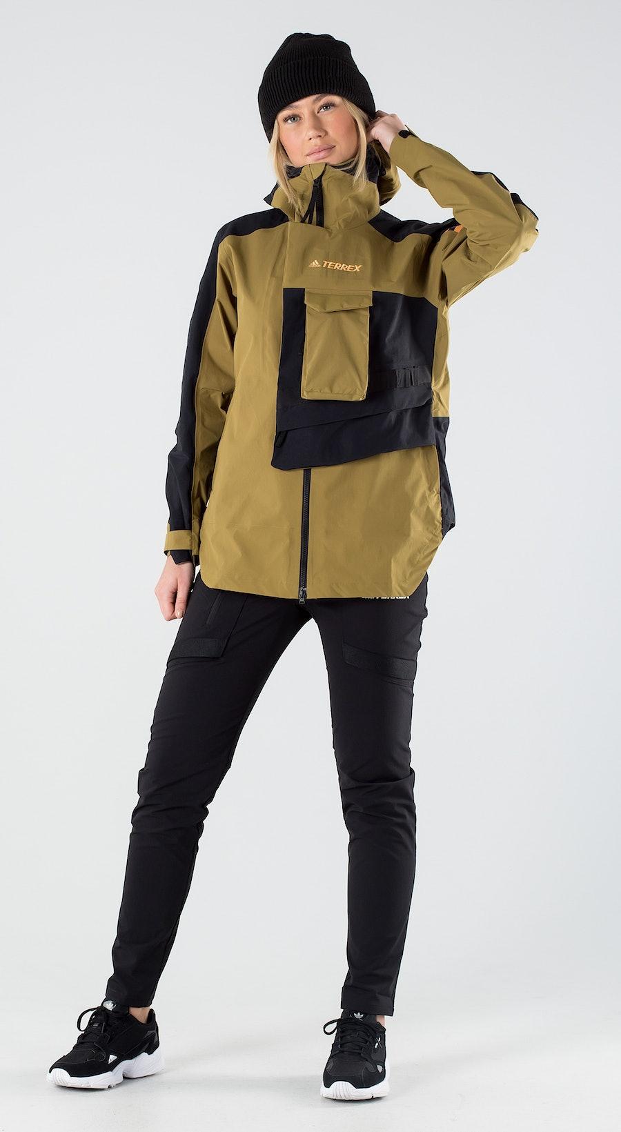 Adidas Terrex Xploric Wild Moss/Black Outfit Multi