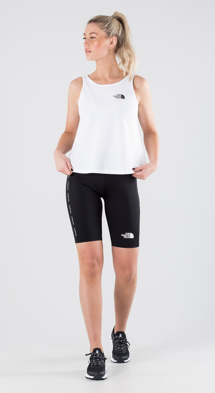 The North Face Simple Dome Tnf White Outfit Multi