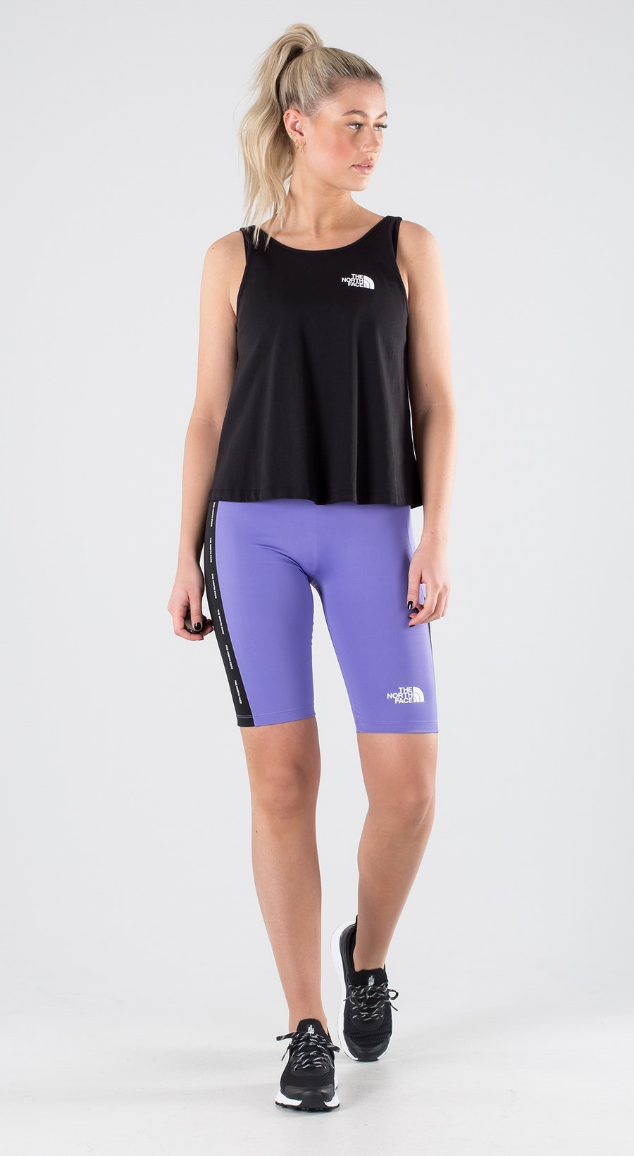 The North Face Train N Logo Pop Purple Outfit Multi