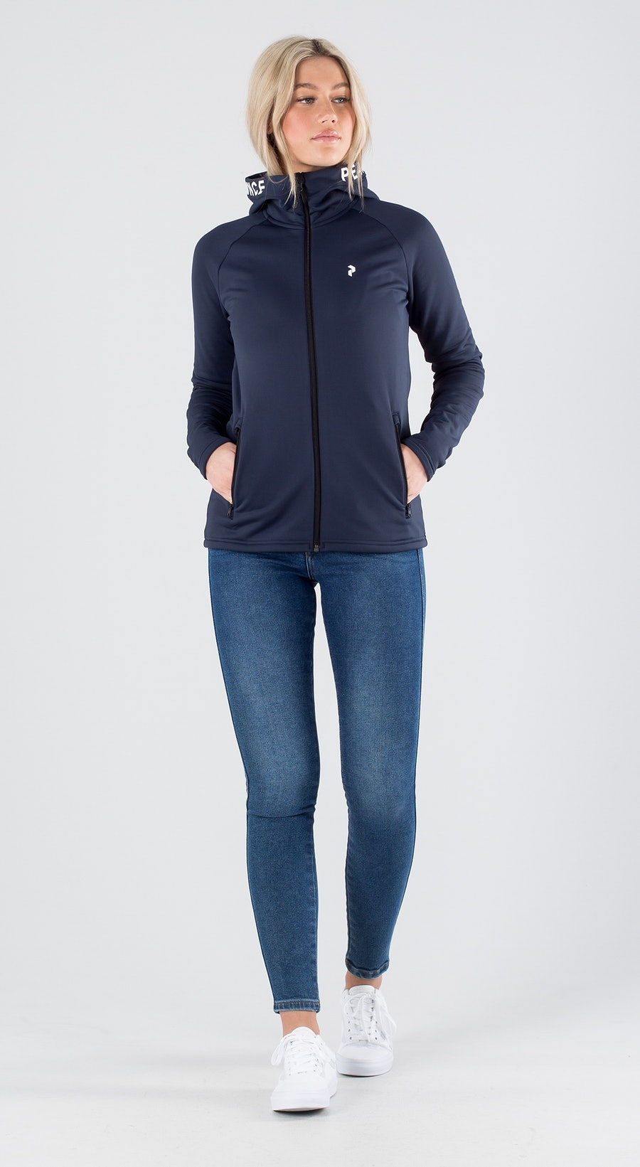 Peak Performance Rider Zip Blue Shadow Outfit Multi