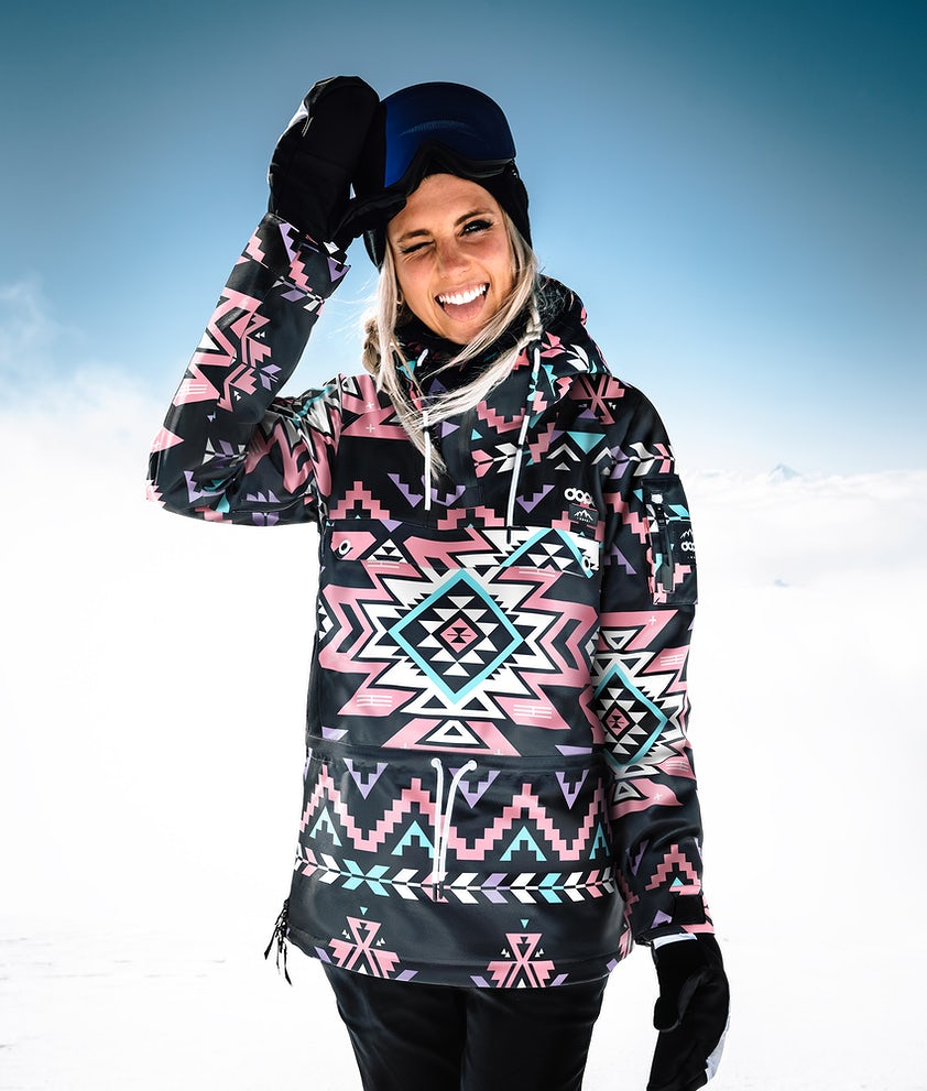 Dope Annok W Veste de Snowboard Inka Pink