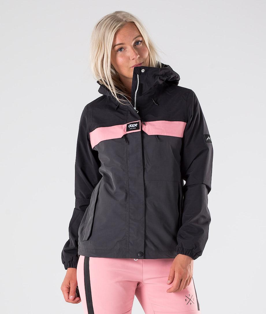 Dope Trekker W Outdoorjacke Black/Duskgrey/Pink