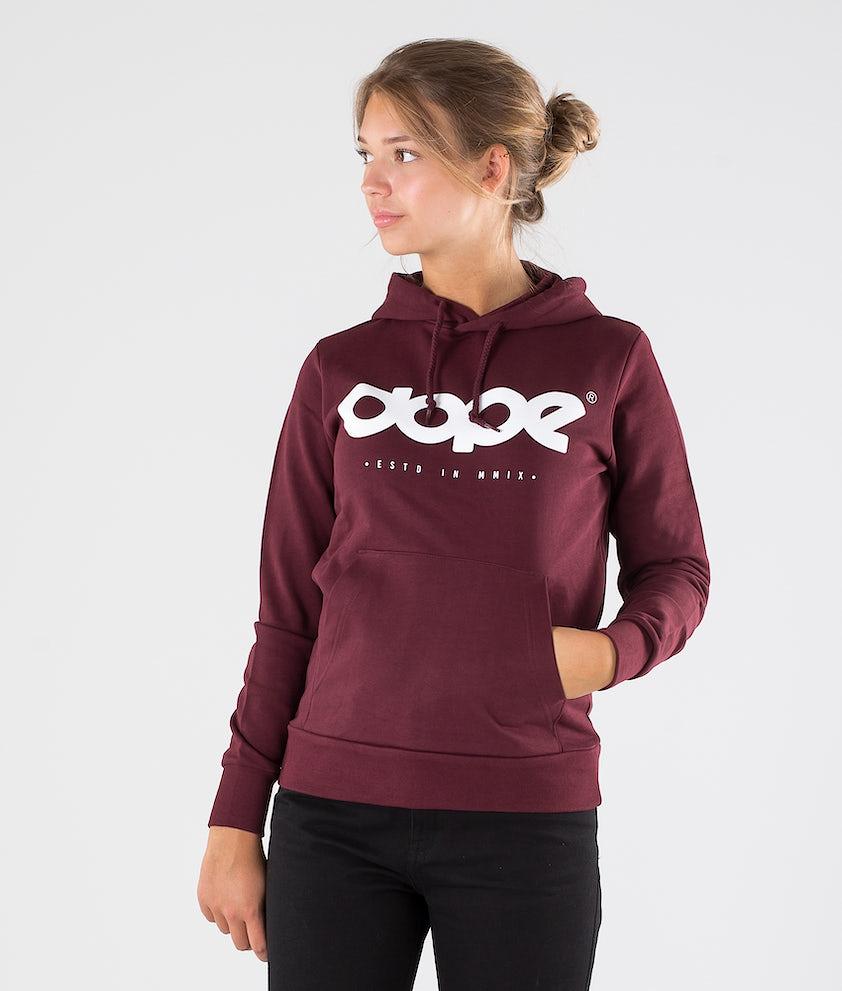 Dope OG Logo Copain Hood Burgundy