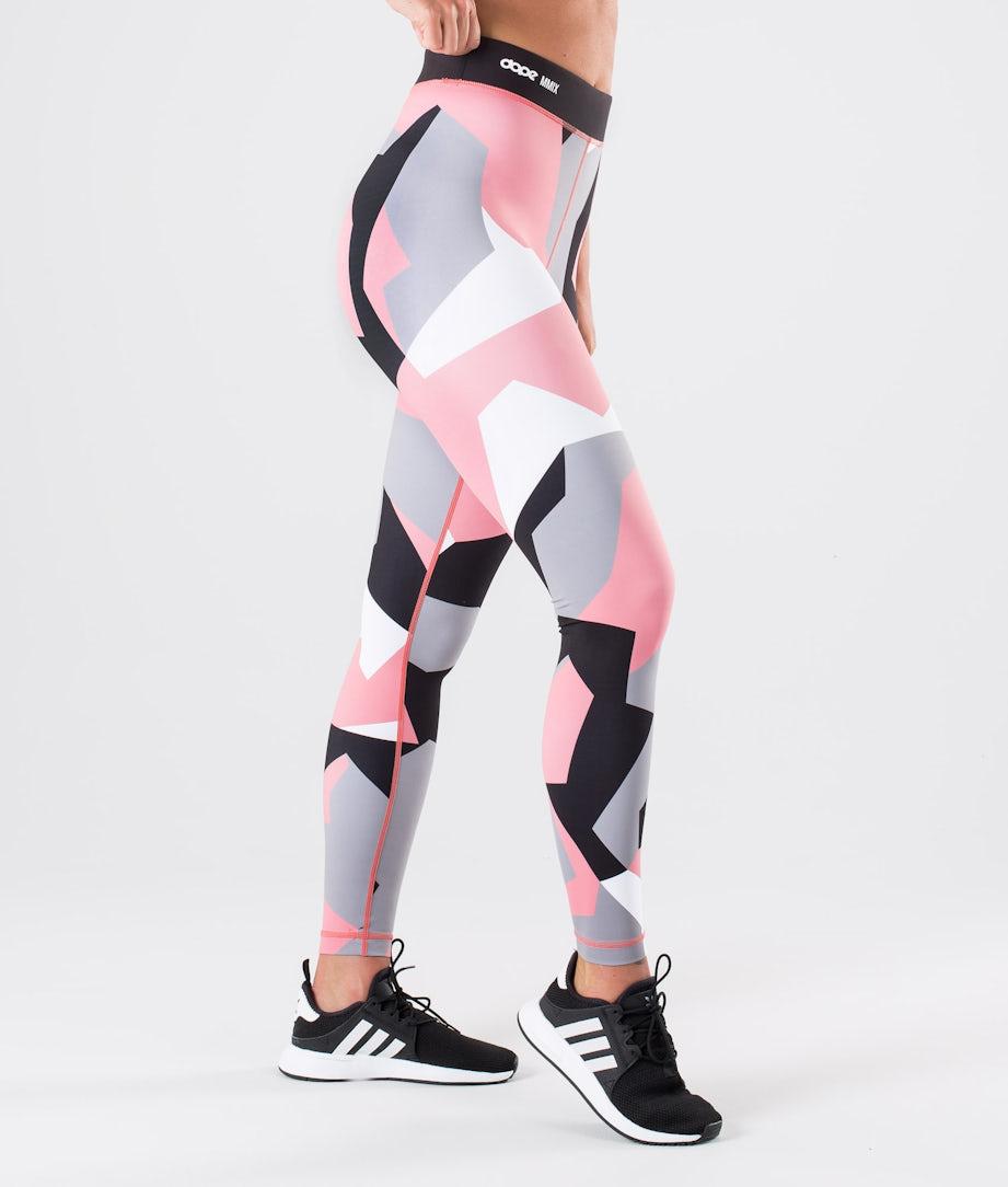 Dope Razor Leggings Pink Camo