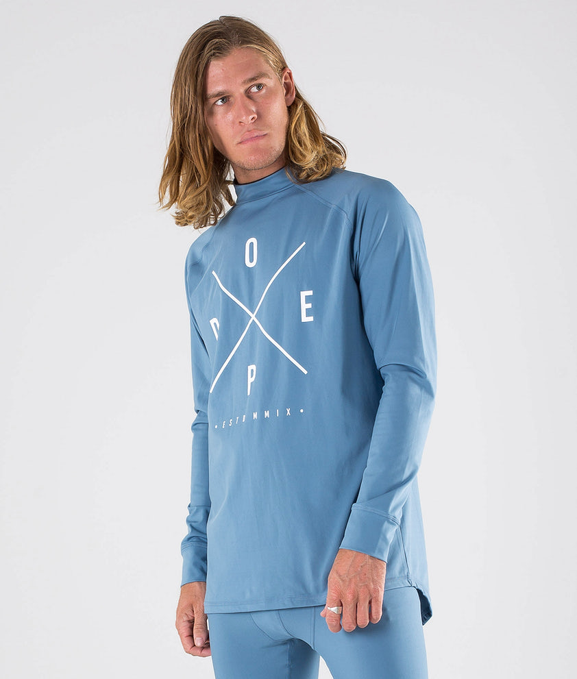 Dope Snuggle 2X-UP Tee-shirt thermique Blue