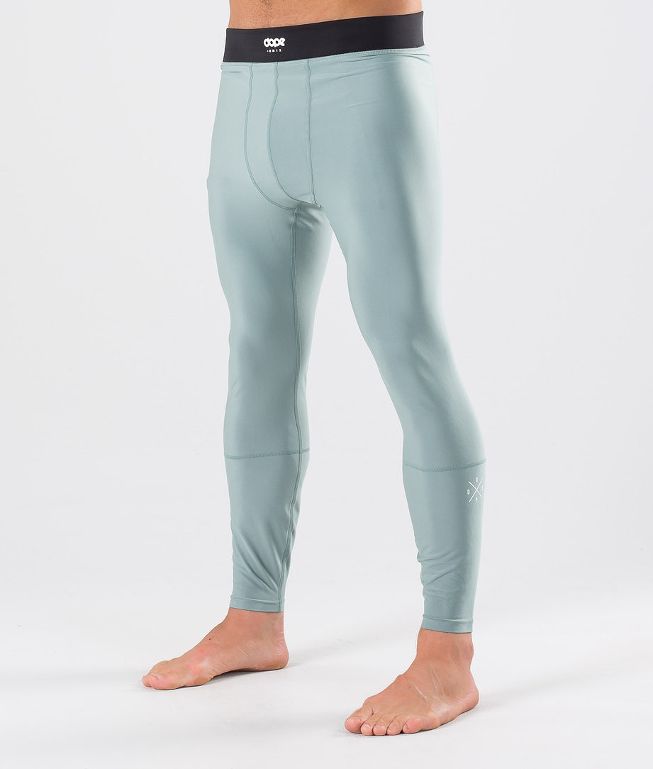 Dope Snuggle 2X-UP Base Layer Pant Faded Green
