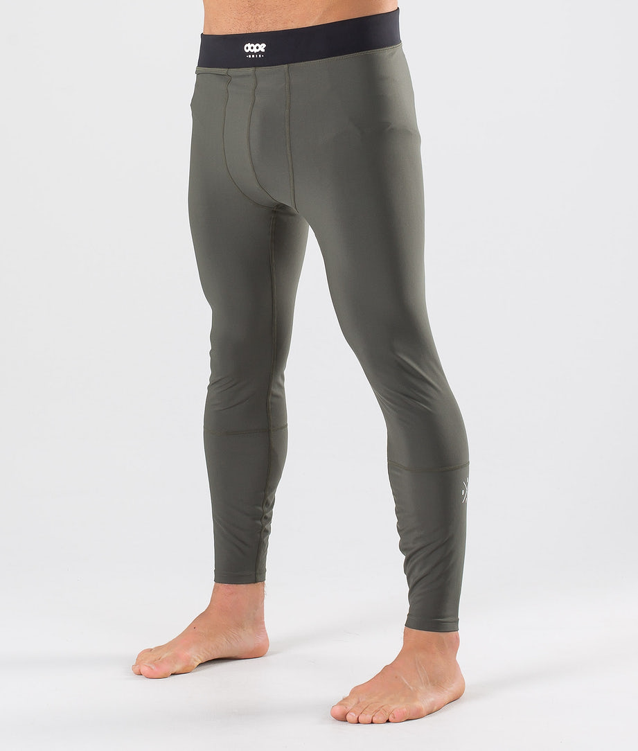 Dope Snuggle 2X-UP Pantalon thermique Green