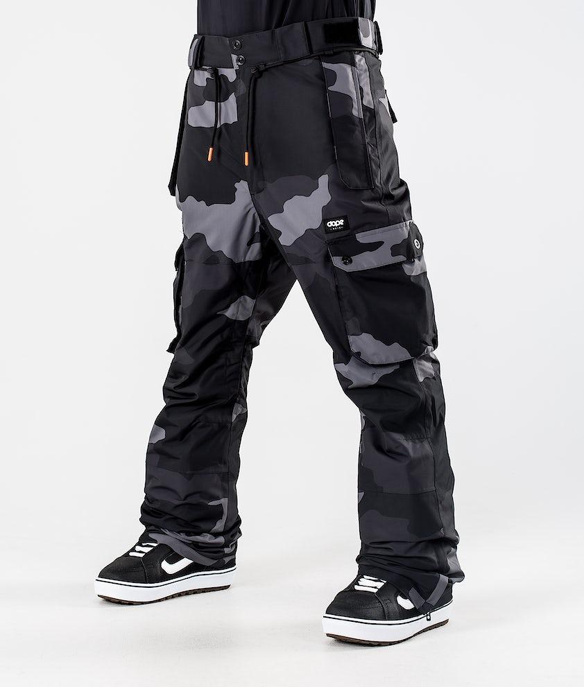 Dope Iconic Snowboardhose Black Camo