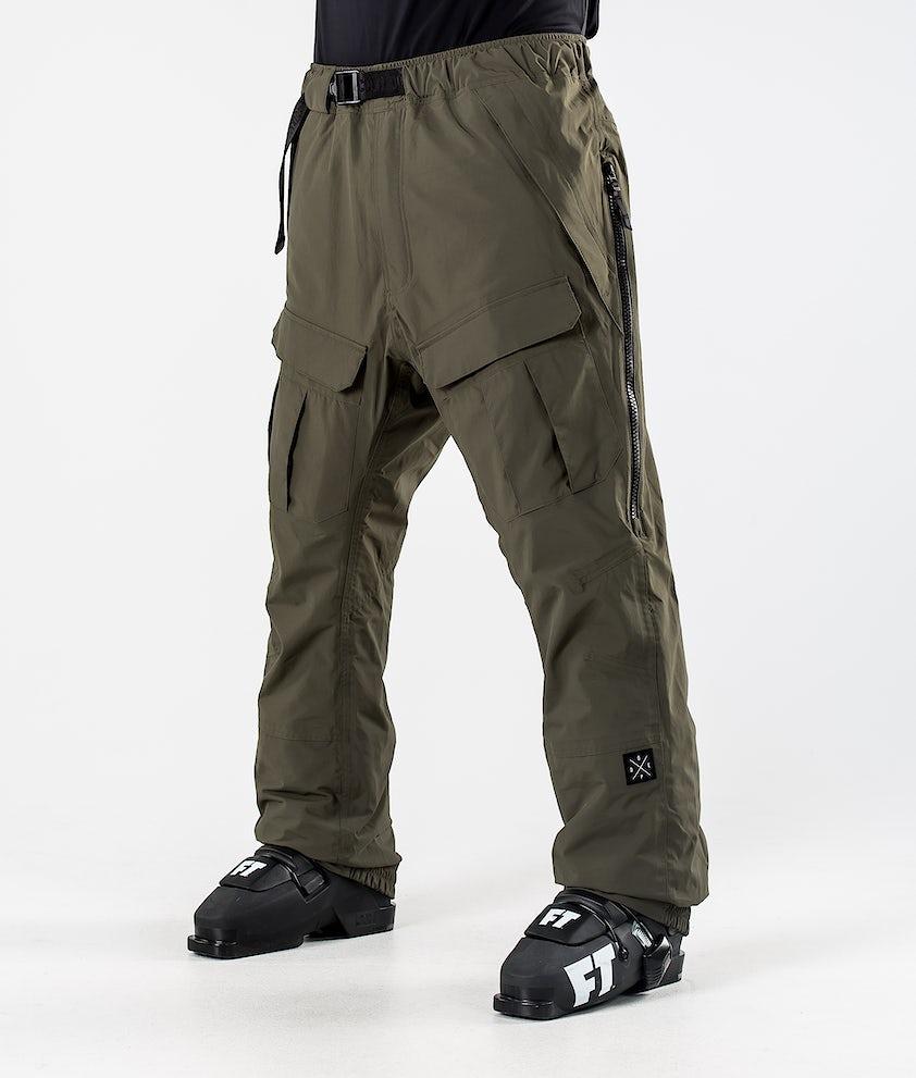 Dope Antek Pantaloni da Sci Olive Green