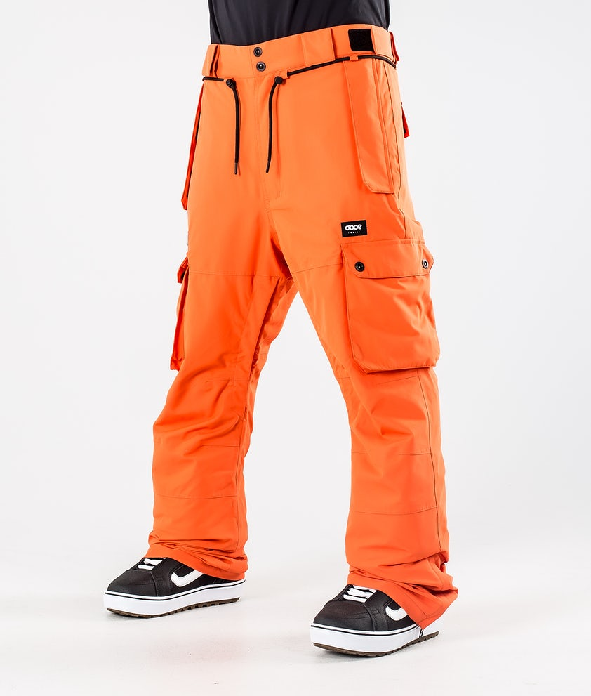 Dope Iconic Snowboardbyxa Orange