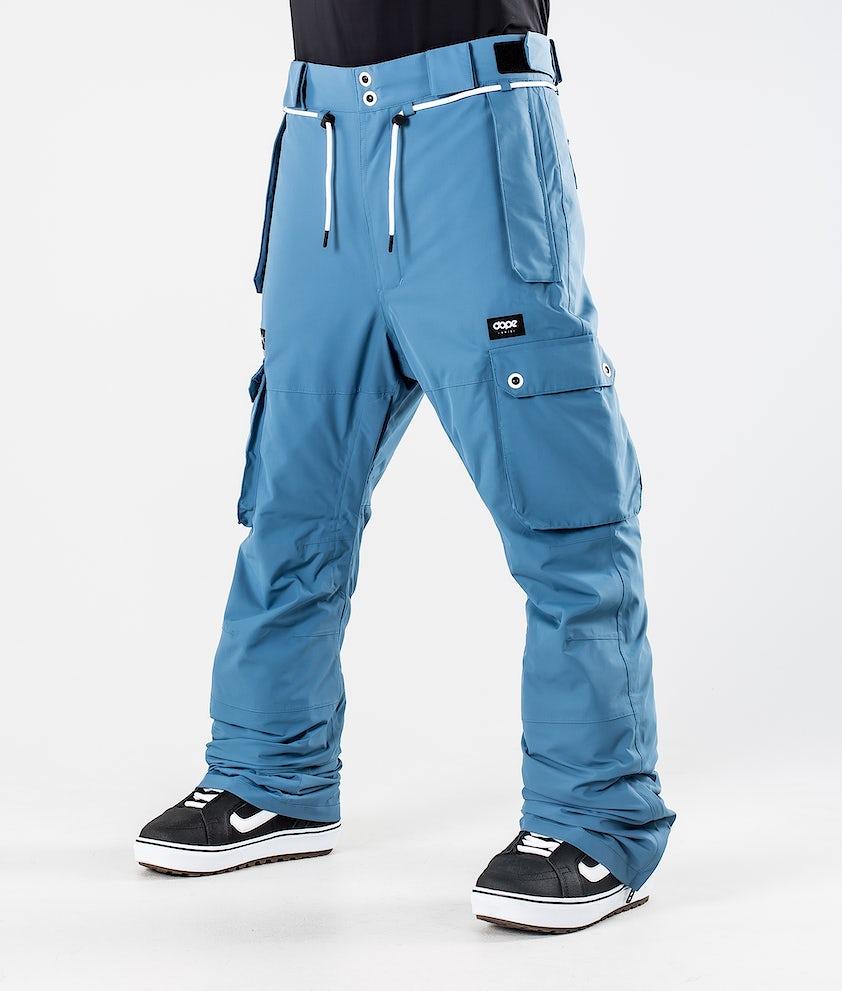 Dope Iconic Snowboardhose Blue Steel