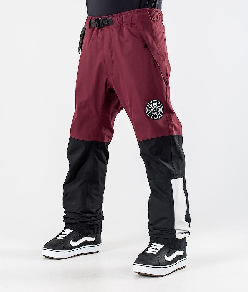 Dope Blizzard LE Pantaloni da Snowboard Burgundy Multicolour