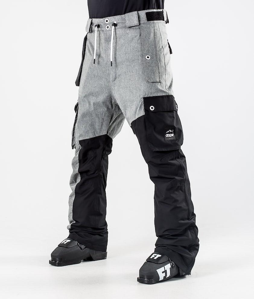 Dope Adept Skihose Grey Melange/Black