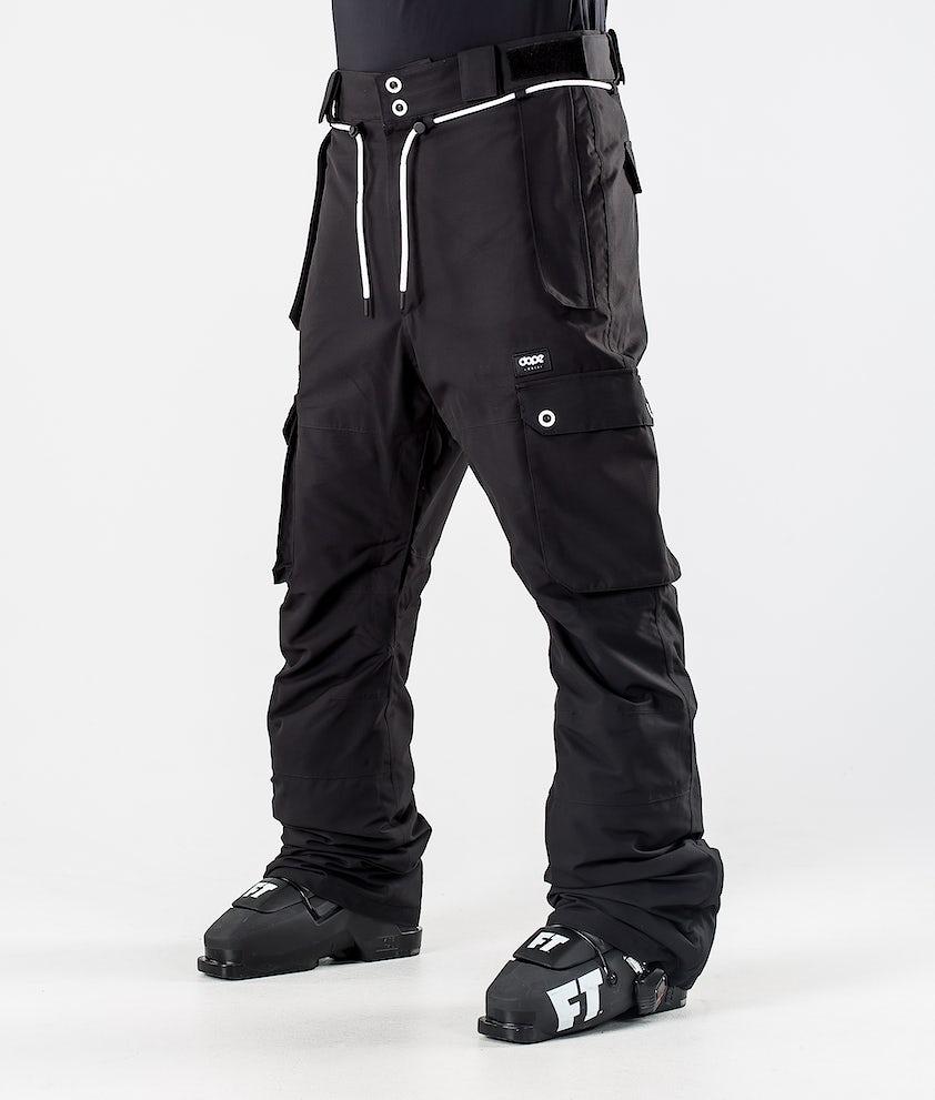 Dope Iconic Ski Pants Black
