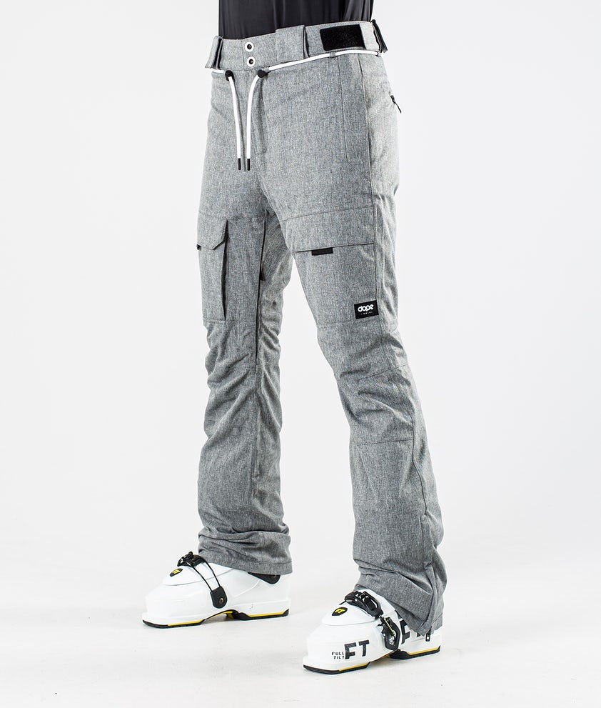 Dope Grace Ski Pants Grey Melange